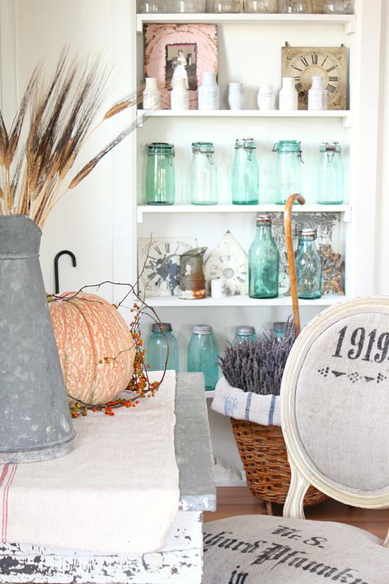 Muebles vintage recuperados pintados