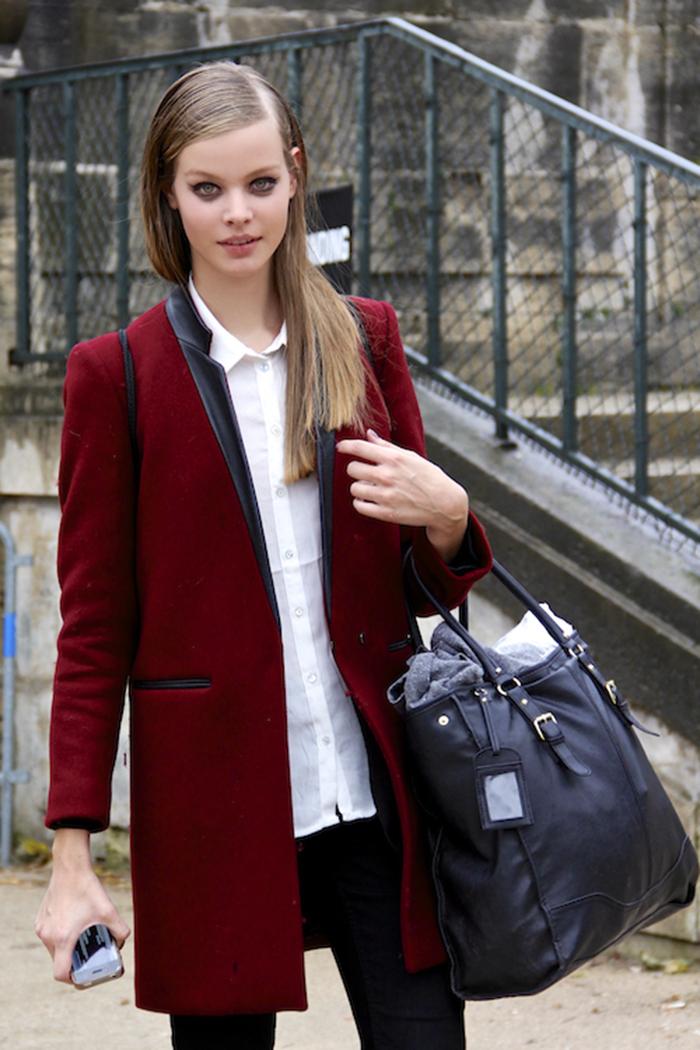 Fashion Population_Models Off Duty_Street Style_Paris Fashion Week_After Elie Saab_Spring Summer 2013