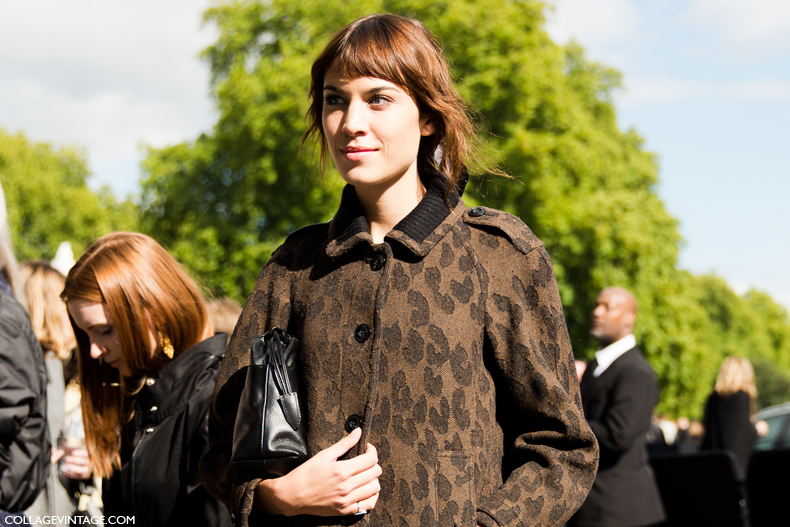 LFW-London_Fashion_Week_Spring_Summer_2014-Street_Style-Say_Cheese-Collage_Vintage-Alexa_Chung-Burberry-1
