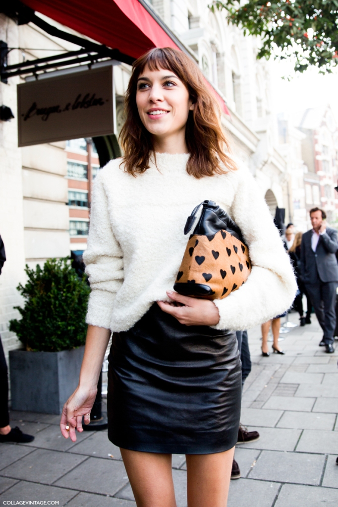 LFW-London_Fashion_Week_Spring_Summer_2014-Street_Style-Say_Cheese-Collage_Vintage-Alexa_Chung-Michael_Kane-3