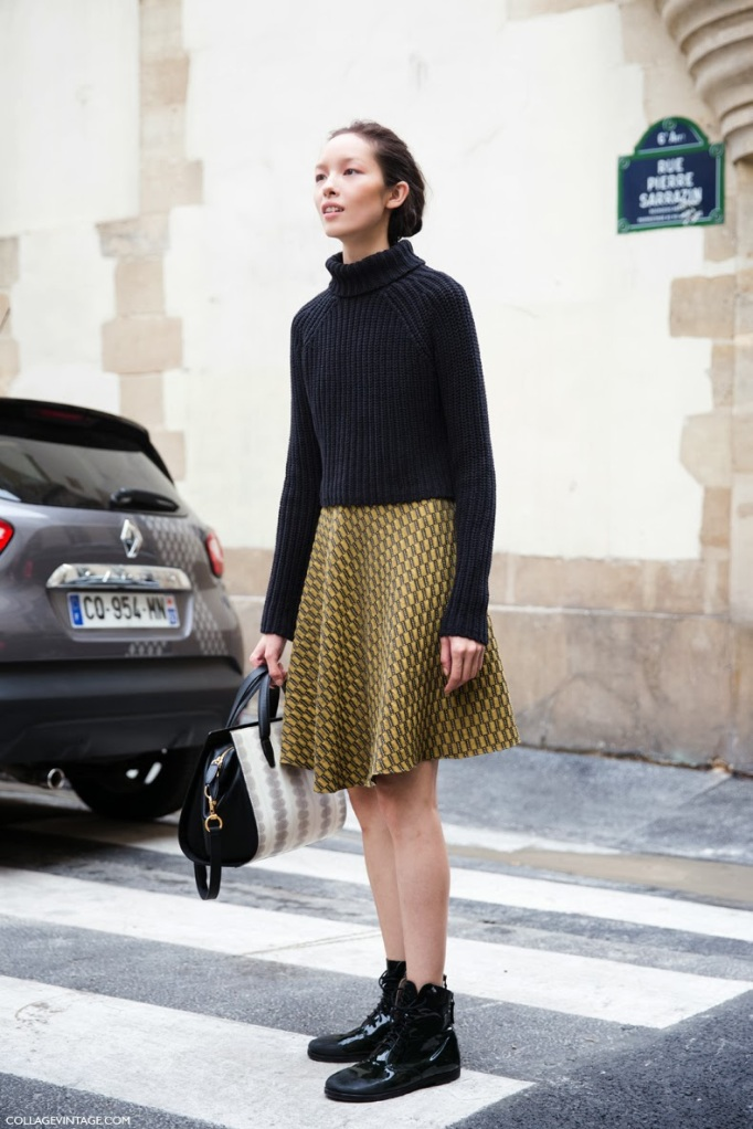 Paris_Fashion_Week_Spring_Summer_14-Street_STyle-PFW-Collagevintage-Say_Cheese-Giambattista_Valli-Model-Skirt