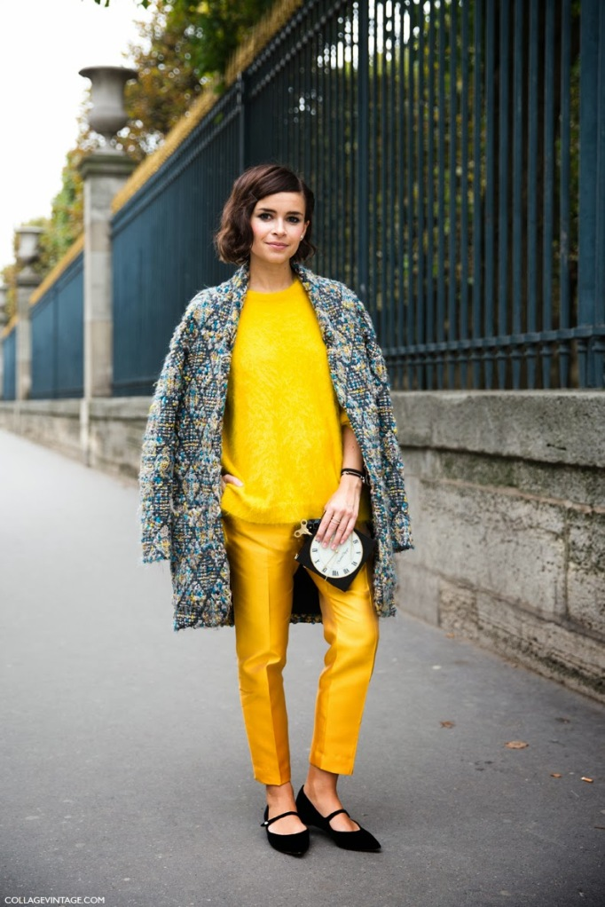 Paris_Fashion_Week_Spring_Summer_14-Street_STyle-PFW-Collagevintage-Say_Cheese-Stella_McCartney-Miroslava_Duma-Yellow-1